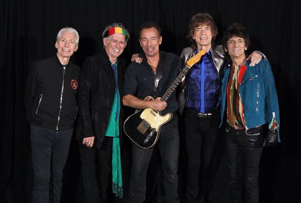 The Stones and Bruce