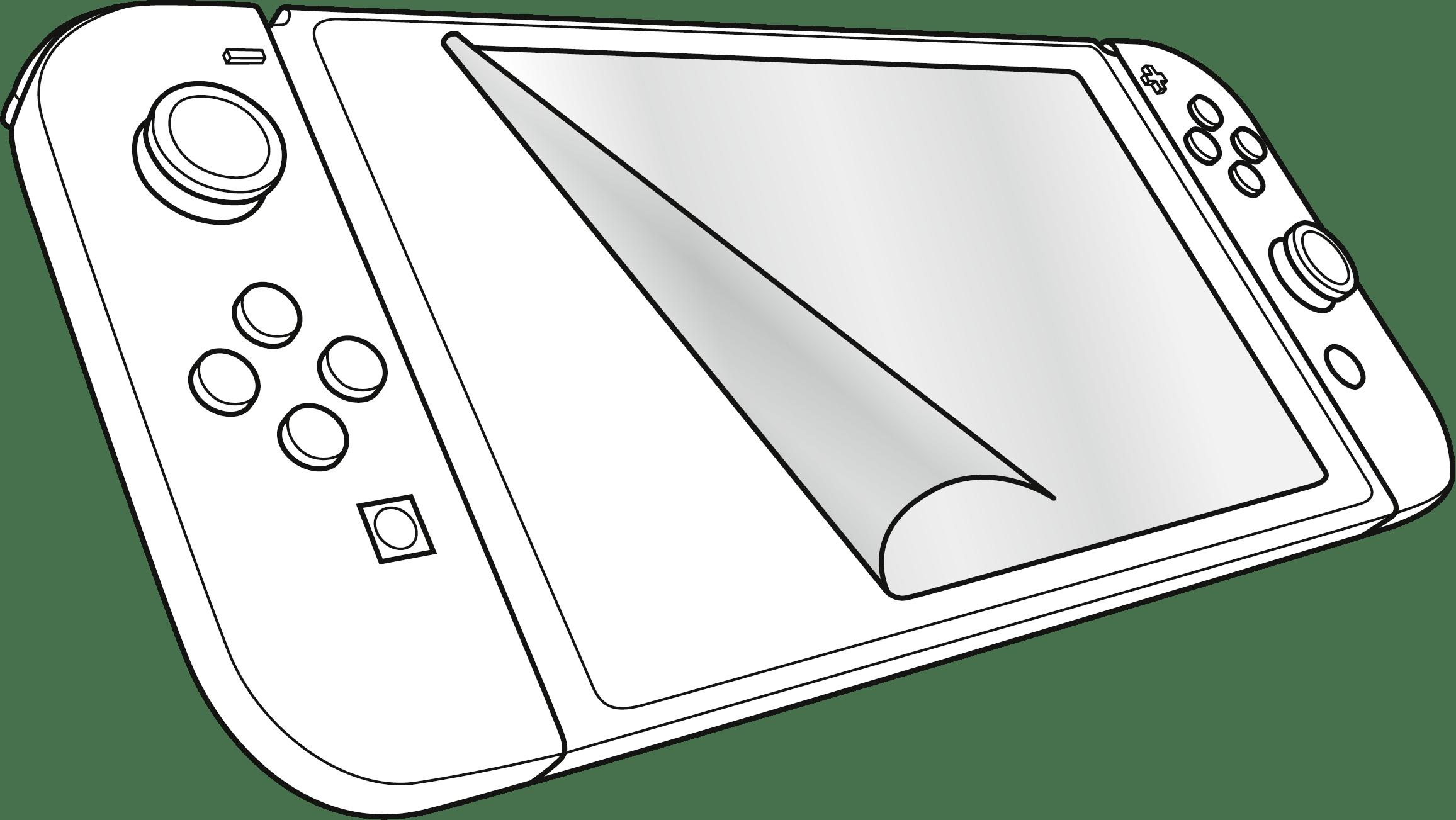 View And Download Hd Speedlink Glance Nintendo Switch Screen Protector Nintendo Switch Coloring Pages Png Image For F Nintendo Switch Coloring Pages Nintendo