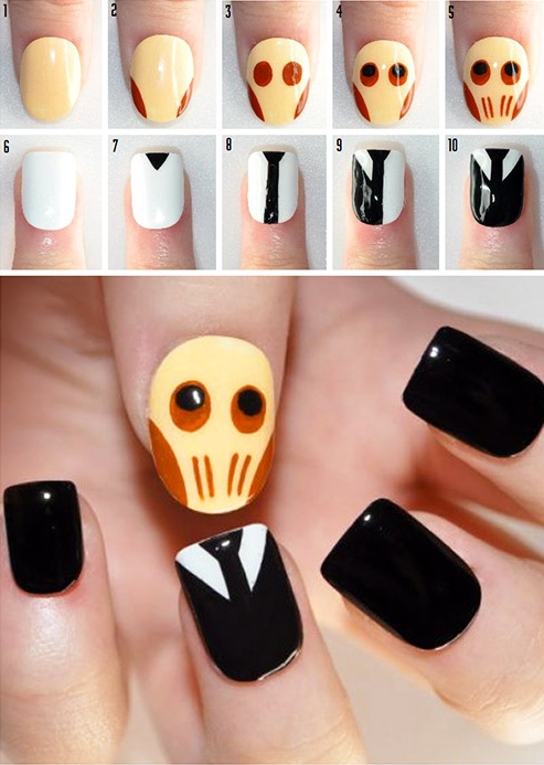 Este diseño del Doctor Who: | Art tutorials, Sherlock nails and Hair ...