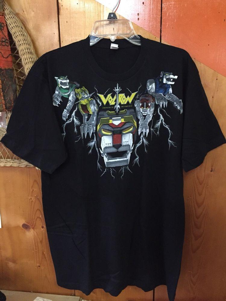 ca772f72b Voltron Defender of the Universe Adult T-Shirt #tshirt | T-Shirts ...