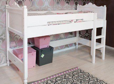 Super mooi voor ons kleinste meisje belle halfhoogslaper stapelbed pinterest belle - Mooi slaapkamer meisje ...