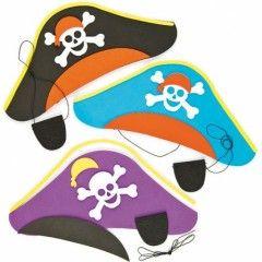 carnaval mat riel pour se d guiser en pirate loisirs creatifs maternelle et maison kit chapeau. Black Bedroom Furniture Sets. Home Design Ideas