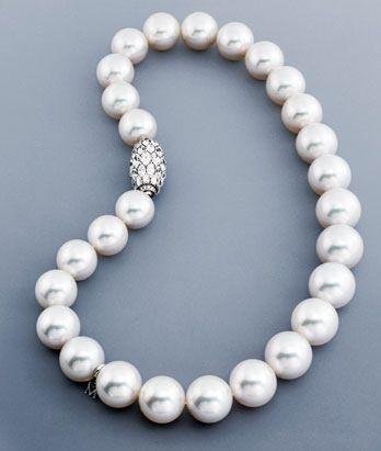 888ddd518437 Mikimoto South Sea Pearls. Collares De Perlas