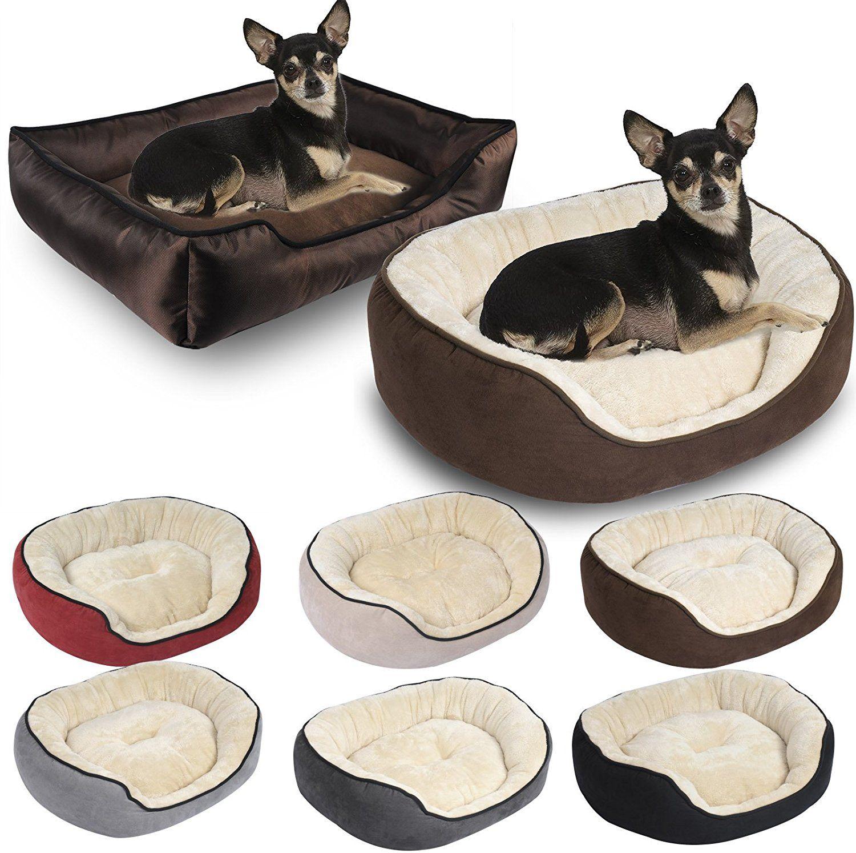 WOLTU HT2015br Oxford Cloth Brown Dog Cave Bed Pet Dog Bed