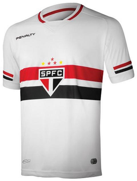 Tricolor Paulista e seus uniformes para 2015 - Coleção de Camisas ... 38d09125a5180