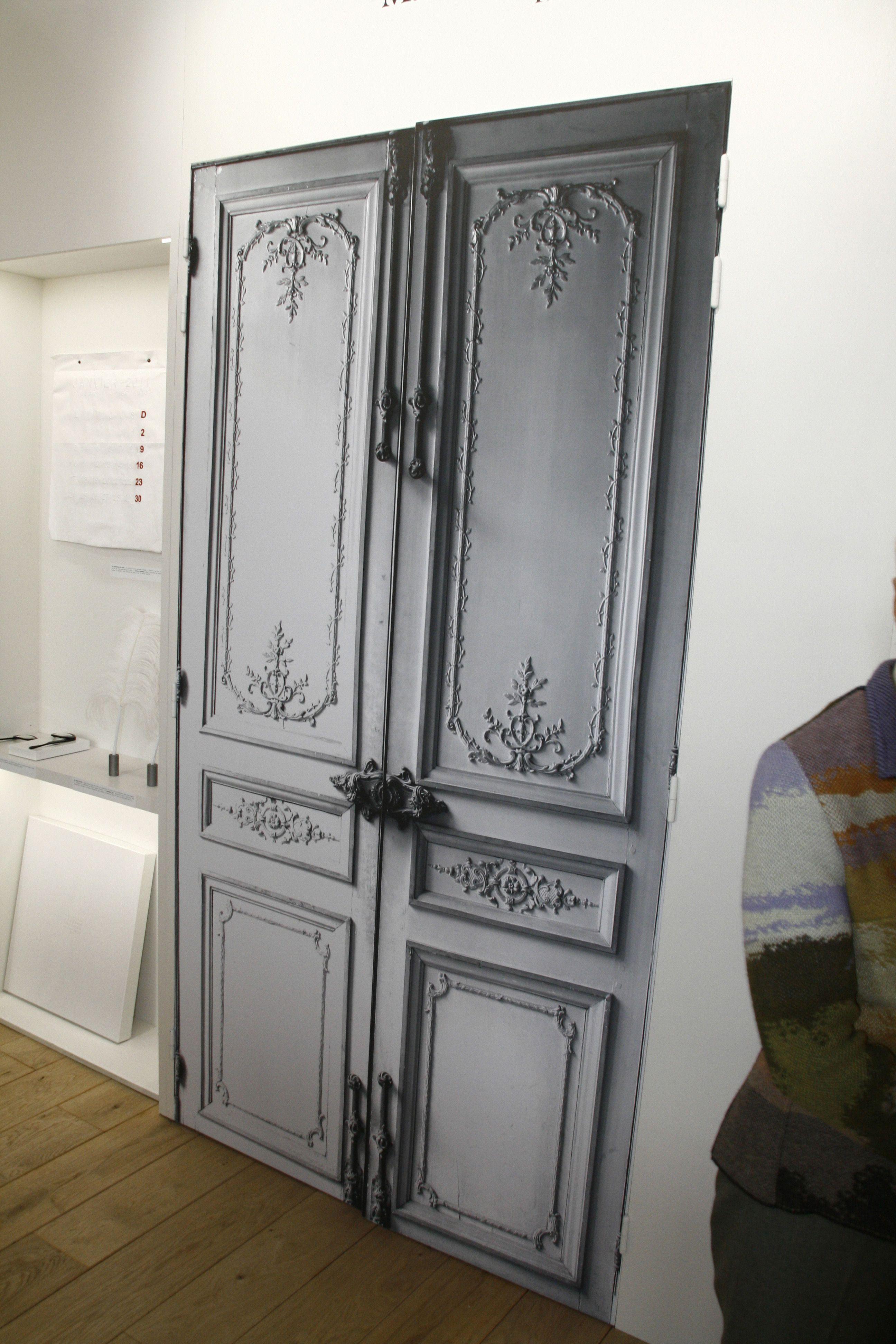 Porte Haussmannienne sticker porte haussmannienne - maison martin margiela | interior