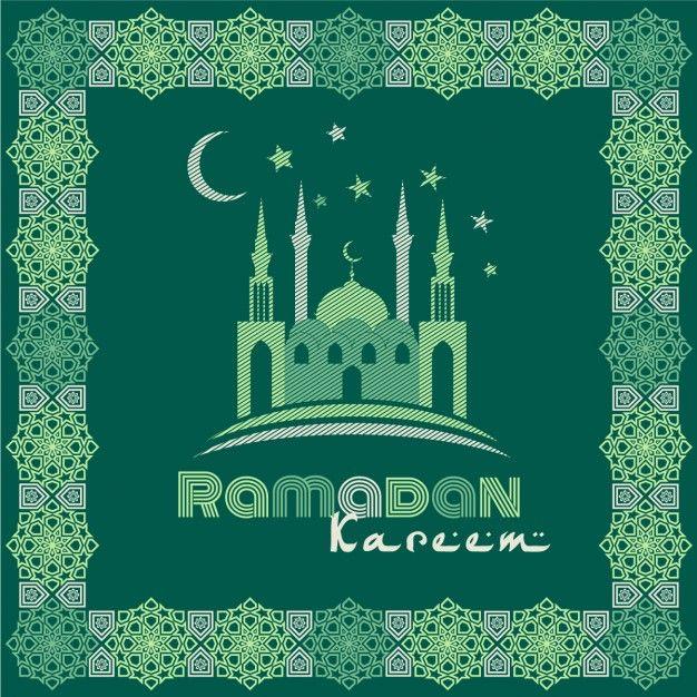 Download Green Ramadan Background For Free Dengan Gambar