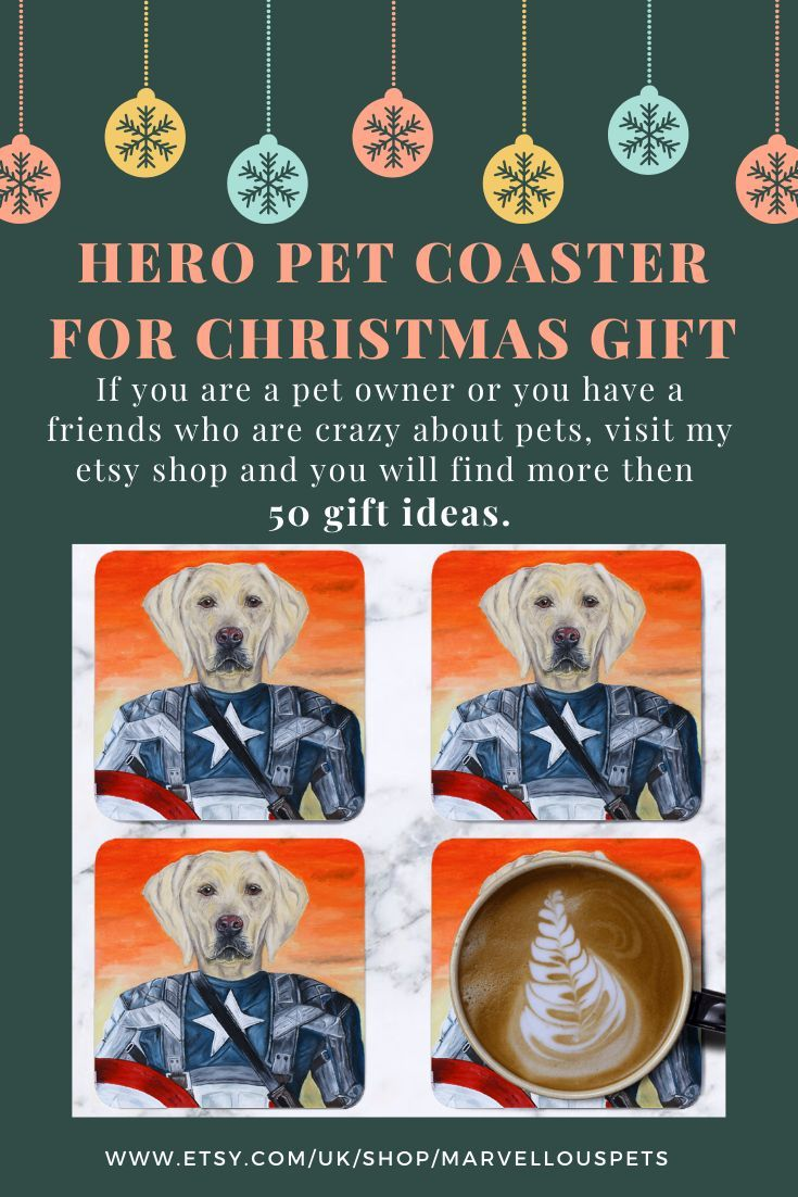 Funny Dog Coaster For Kitchen Dog Home Decor Who Are Crazy About Dogs And Animals Pet Coasters Christmas Dog Outfits Pets