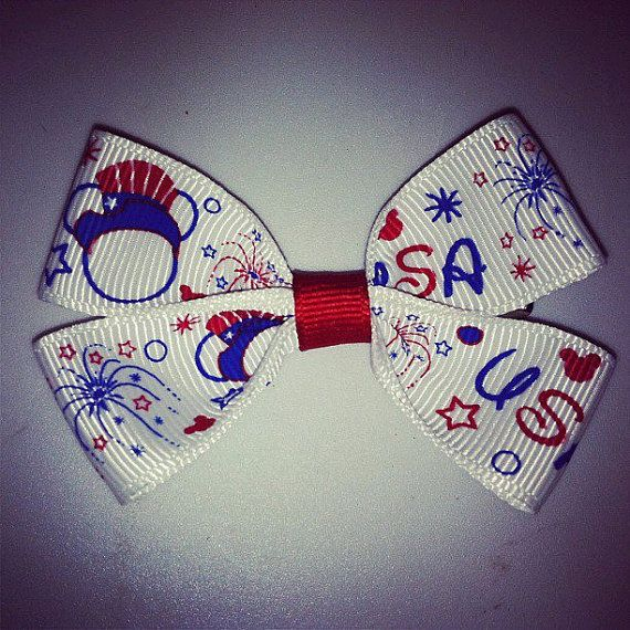 small toddler bow 3 inches hair clip hairbow by RockinRibbons, $1.75