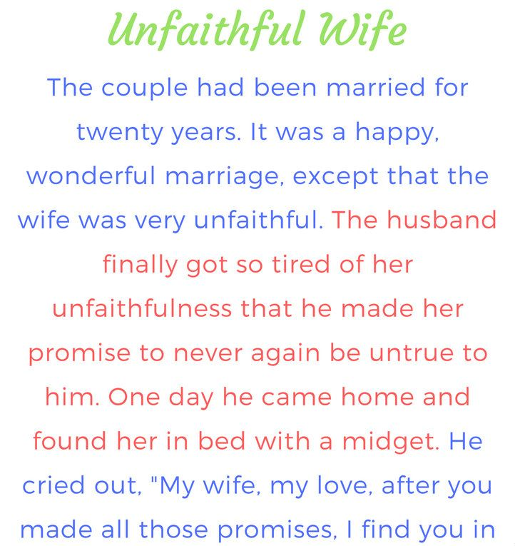 What is unfaithfulness in marriage