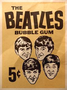 BEATLES BUBBLE GUM