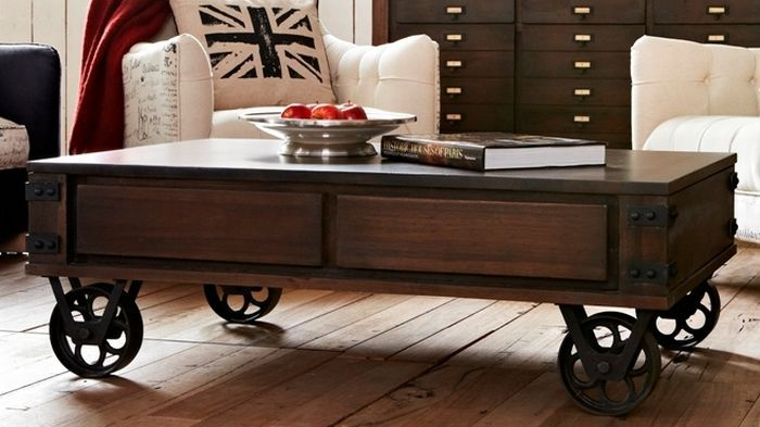 6 Contemporary Coffee Table On Wheels Coffee Table Coffee Table With Wheels Industrial Coffee Table