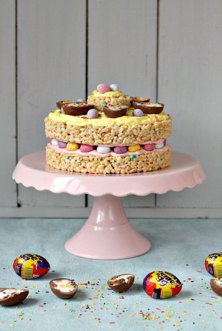 Easter Egg Cake Recipe With Images Chocolate Easter Cake