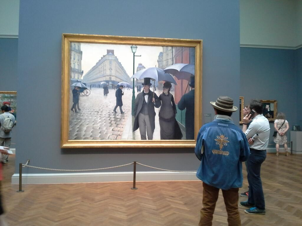 Paris Street: A Rainy Day (study) - Gustave Caillebotte ...