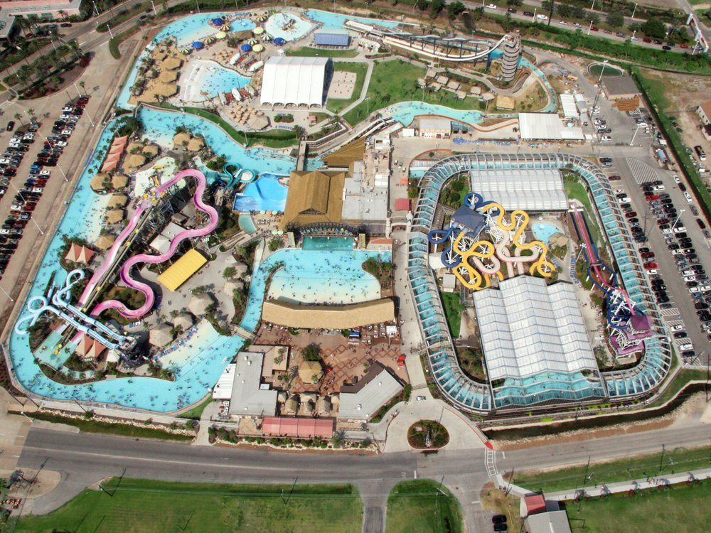 Torrent River Schlitterbahn Galveston Island Water Park – Galveston Tourist Attractions Map