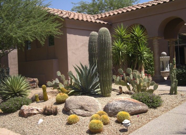 Pin By Landscape Design Site On Southwest Landscaping Xeriscape Front Yard Desert Landscape Design Xeriscape Landscaping