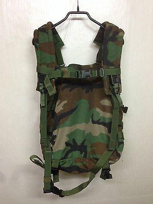 RARE! Vintage US Army Molle Medic Bag Woodland Backpack