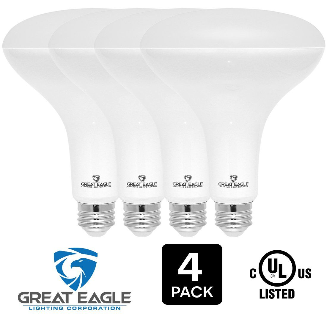 Great eagle led br40 2700k dimmable light bulb 15w120w equivalent great eagle led dimmable light bulb equivalent ul listed 1470 lumens warm white color for recessed and track lighting fixtures arubaitofo Image collections