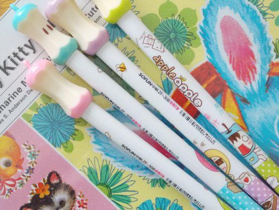 Scrapbooking Pens Journal Pens Kawaii Cute Pens By Platosquirrel