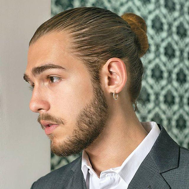 Manbun Bunhairmen Instagram Photos And Videos Man Bun Hairstyles Long Hair Styles Men Man Bun
