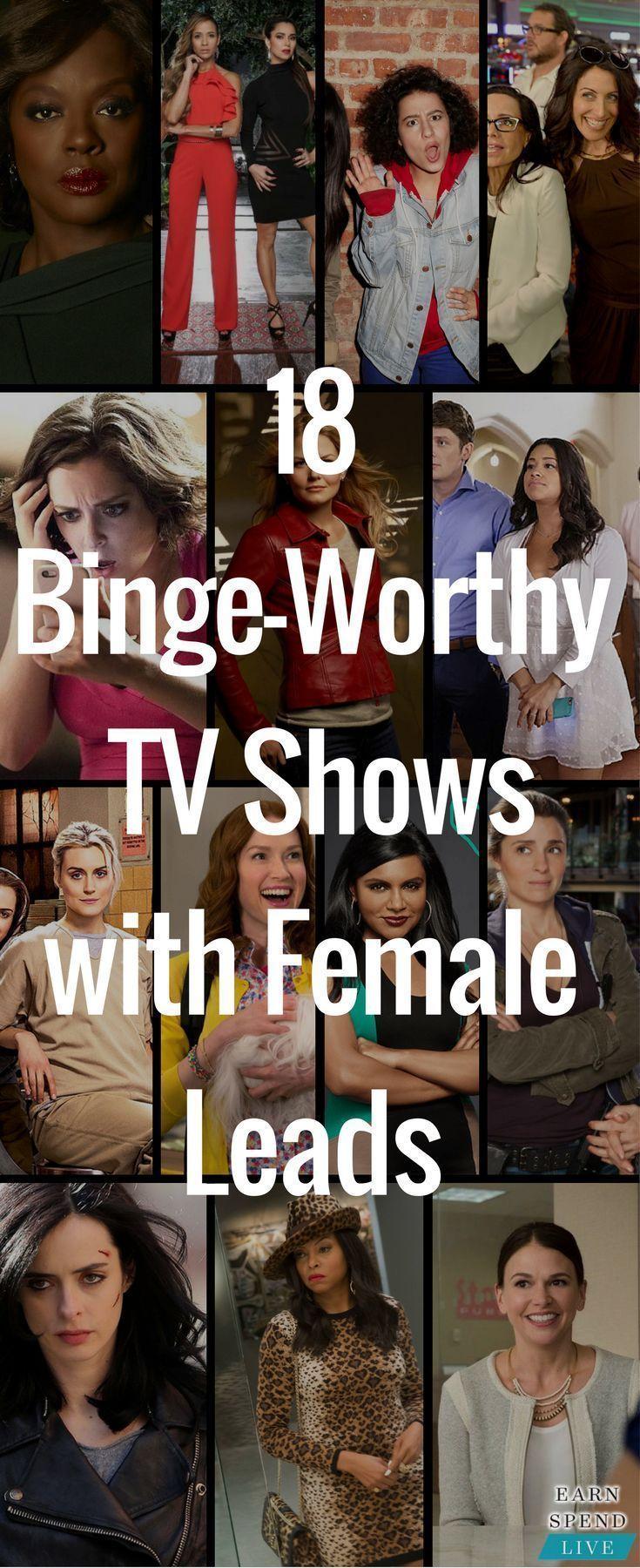Photo of 18 Von Frauen geführte Fernsehsendungen, die Sie unbedingt sehen sollten Frauen machen nur 39% der …