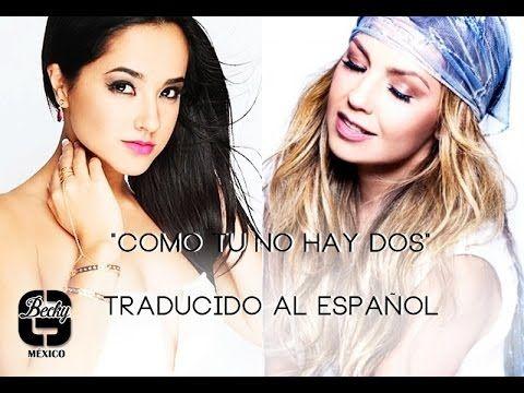Youtube Traducir Al Espanol Thalia Traducir