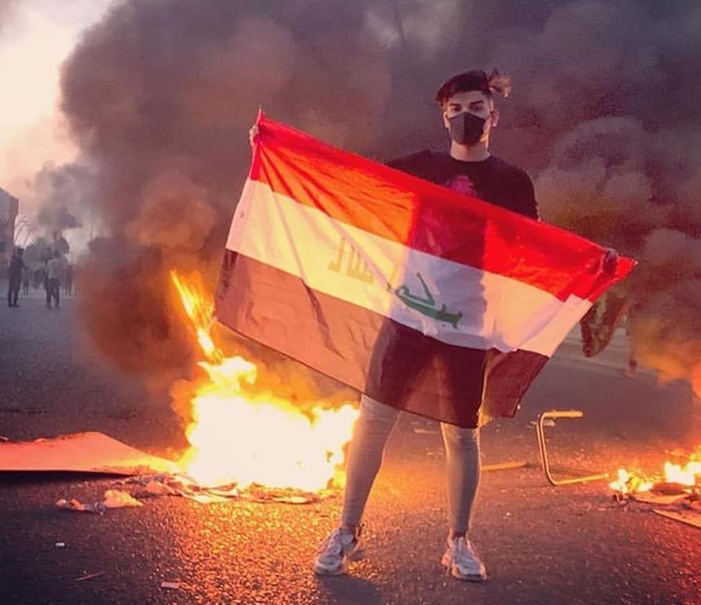 اطلقت القوات المسلحة العراقية النار على المتظاهرين في قلب العاصمة بغداد وقد بلغ عدد القتلى ٣١ في اليوم الرابع من الحركة الاختجاج Baghdad Iraq Baghdad Sketches