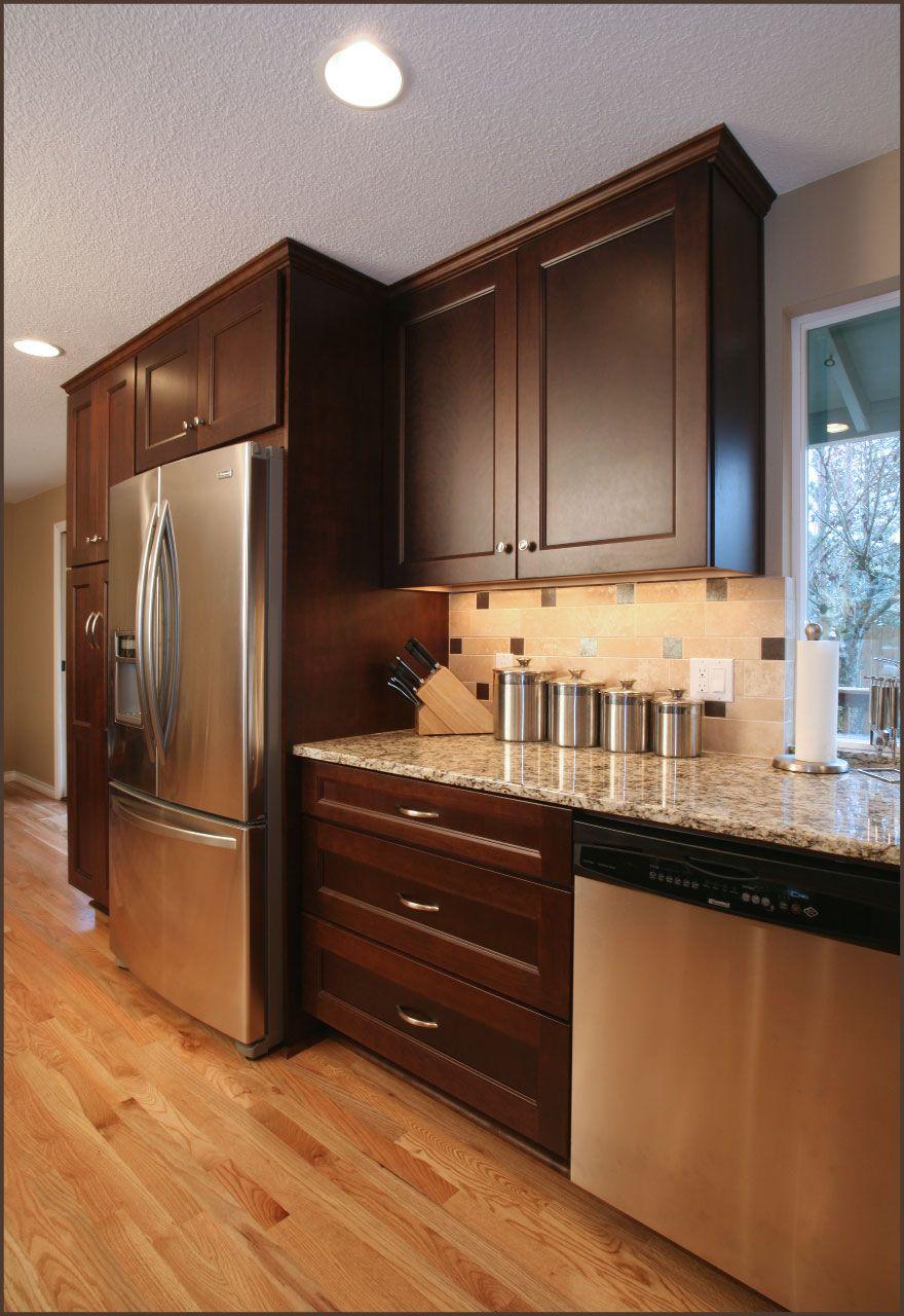 1960s home remodel | Beaverton kitchen remodel including ...