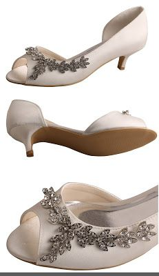 c208c746e37 Low heel   Wedding Shoes   Wedding shoes heels, Wedding shoes, Wedding