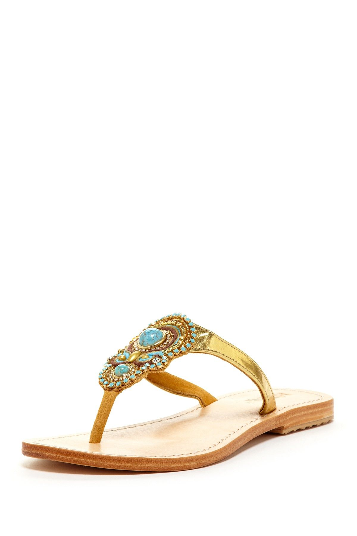 a512f7838472b1 Mystique Beaded Sandal... I would wear these everyday!