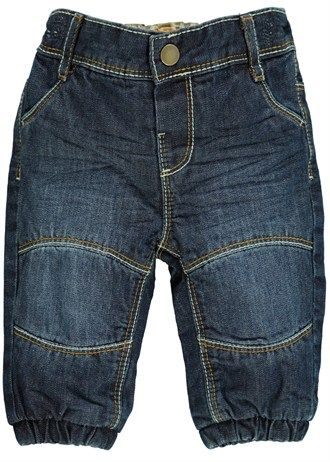 boys jersey lined jeans newborn18mths  matalan  lined