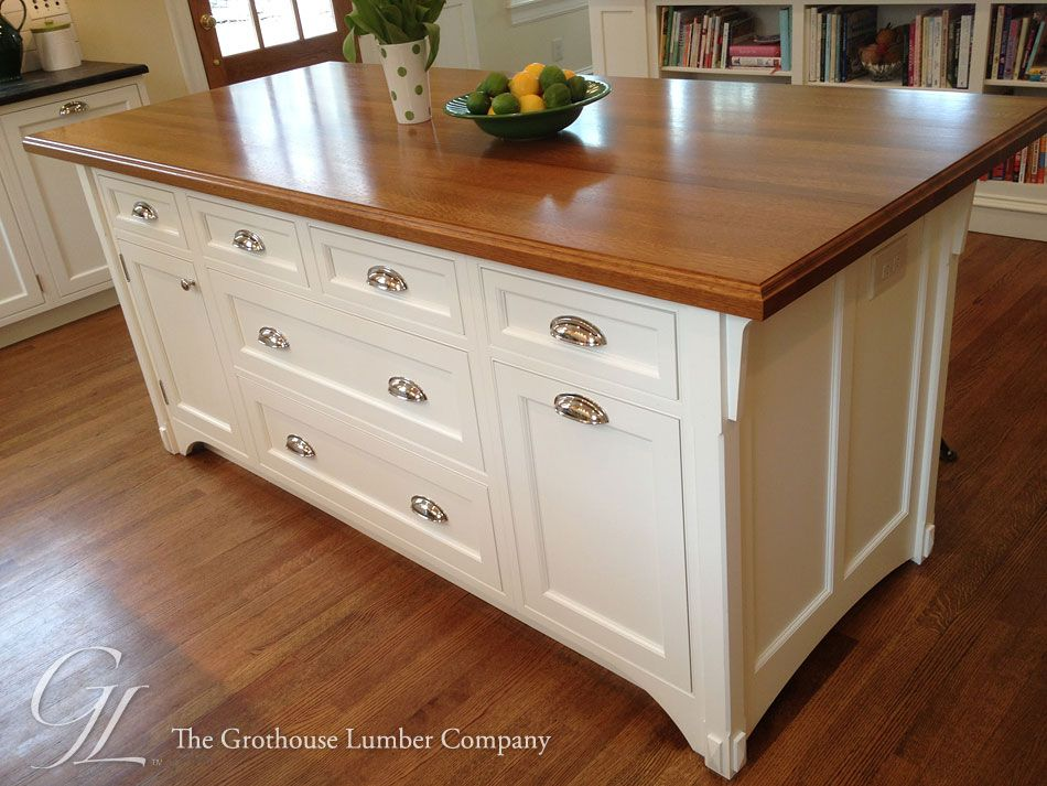 Featured project of the week, White Oak Wood Countertop in ...