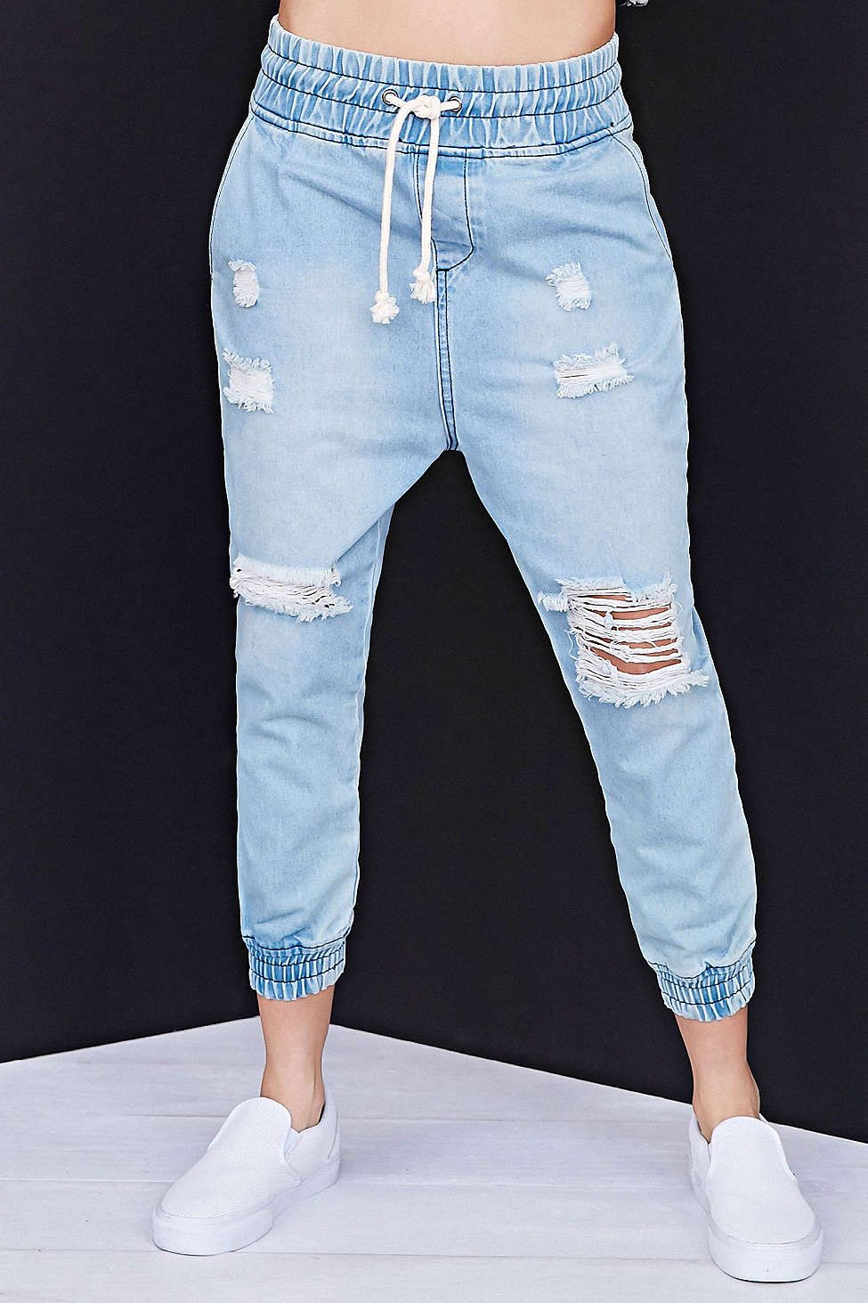 288b6df15d Mad Love Low-Slung Jogger Pant - Urban Outfitters Pantalones Leggins