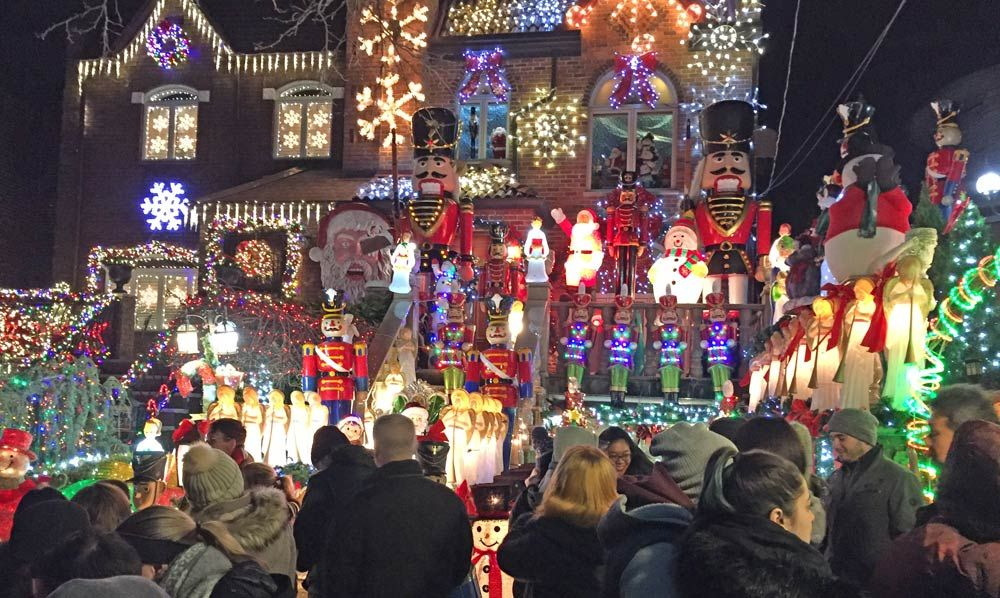 Brooklyn Christmas Lights at Dyker Heights Info / Map