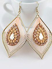Diamantes Kayshine Pink Peacock Feather Forma – USD $ 14.95