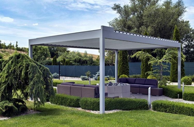 Bioklimatische Pergola Moderne überdachung Für Garten Und Terrasse