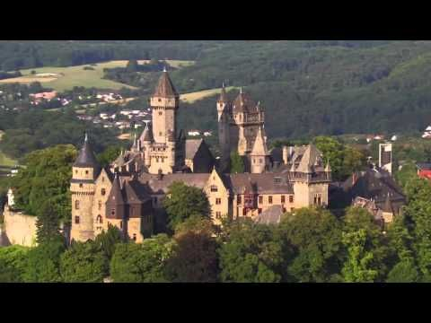 Hessen Von Oben Schlosser Und Burgen Youtube Burg Hessen Schlosser