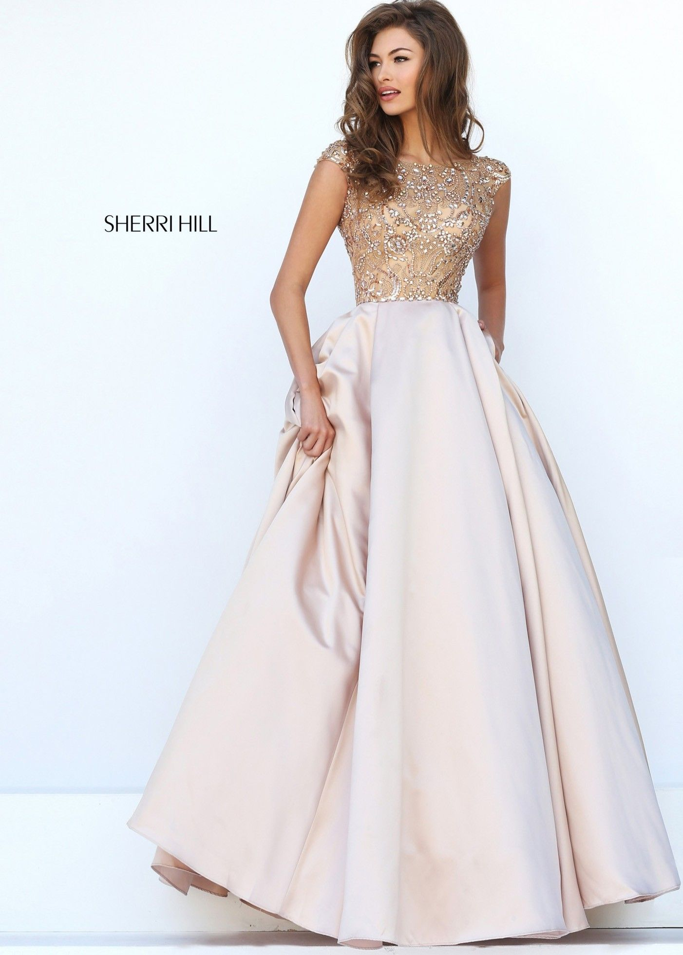 Sherri Hill 32359 Vibrant Cap Sleeve Evening Gown   Gowns, Cap and ...