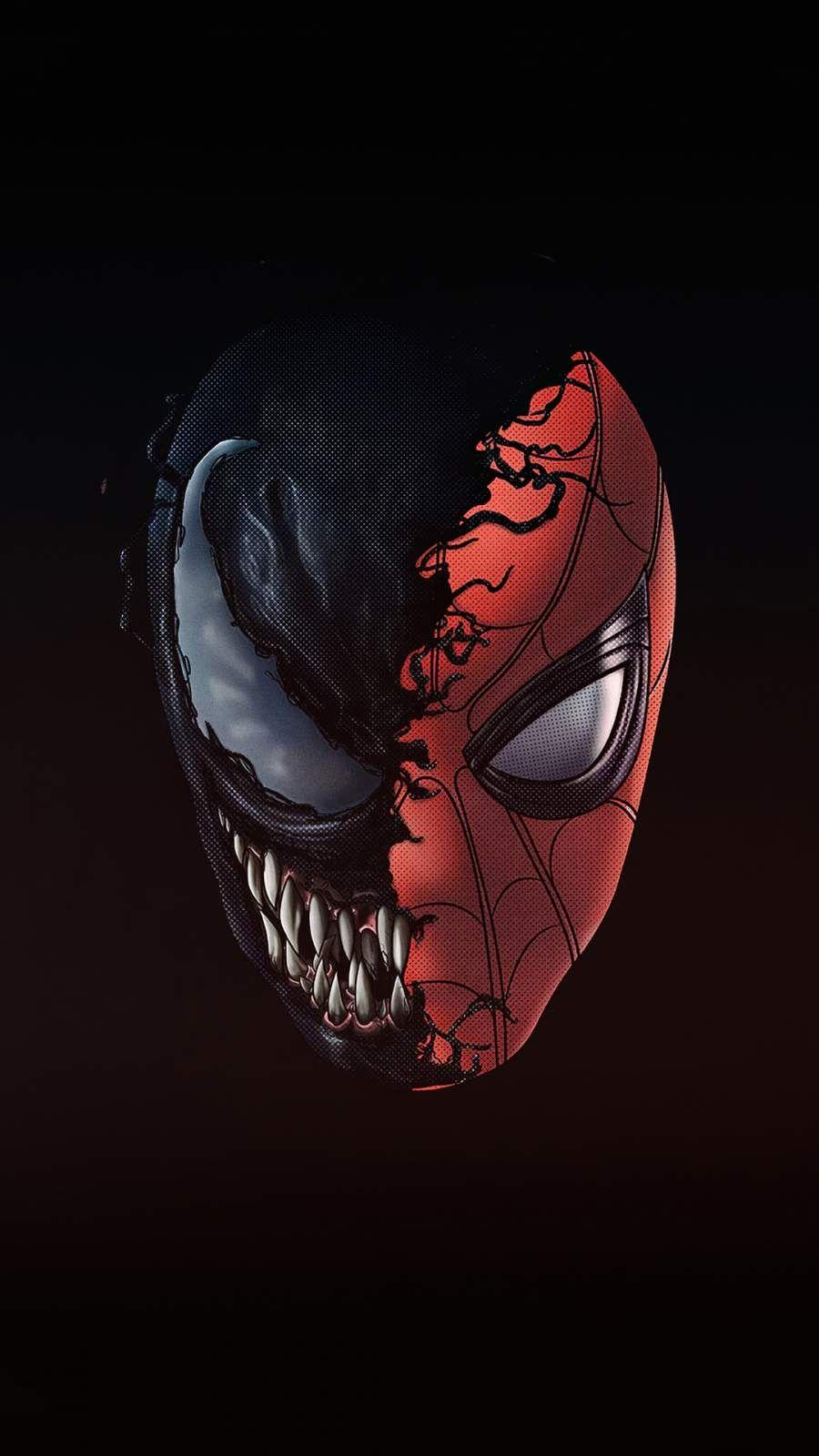 Spiderman X Venom 4k Iphone Wallpaper Marvel Spiderman Art Superhero Wallpaper Marvel Comics Wallpaper