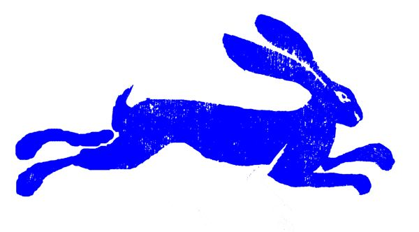 woodblock prints hares - Google Search