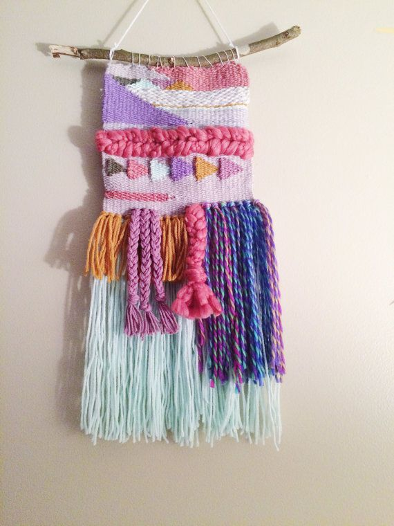 MADE TO ORDER woven wall hanging medium by girlgonewifeshop