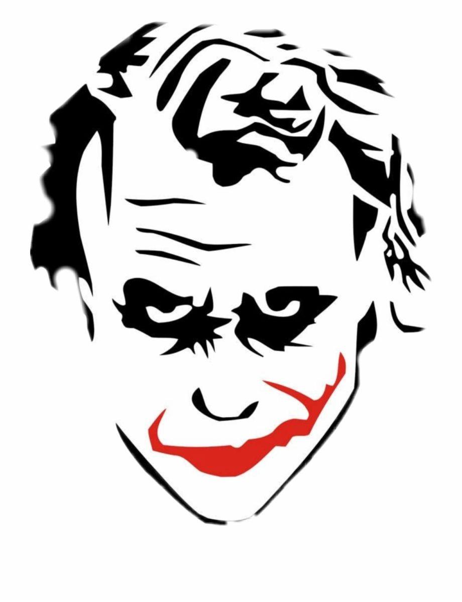Png Joker Sticker Facebook Featured Photos Joker Drawings Joker Sketch