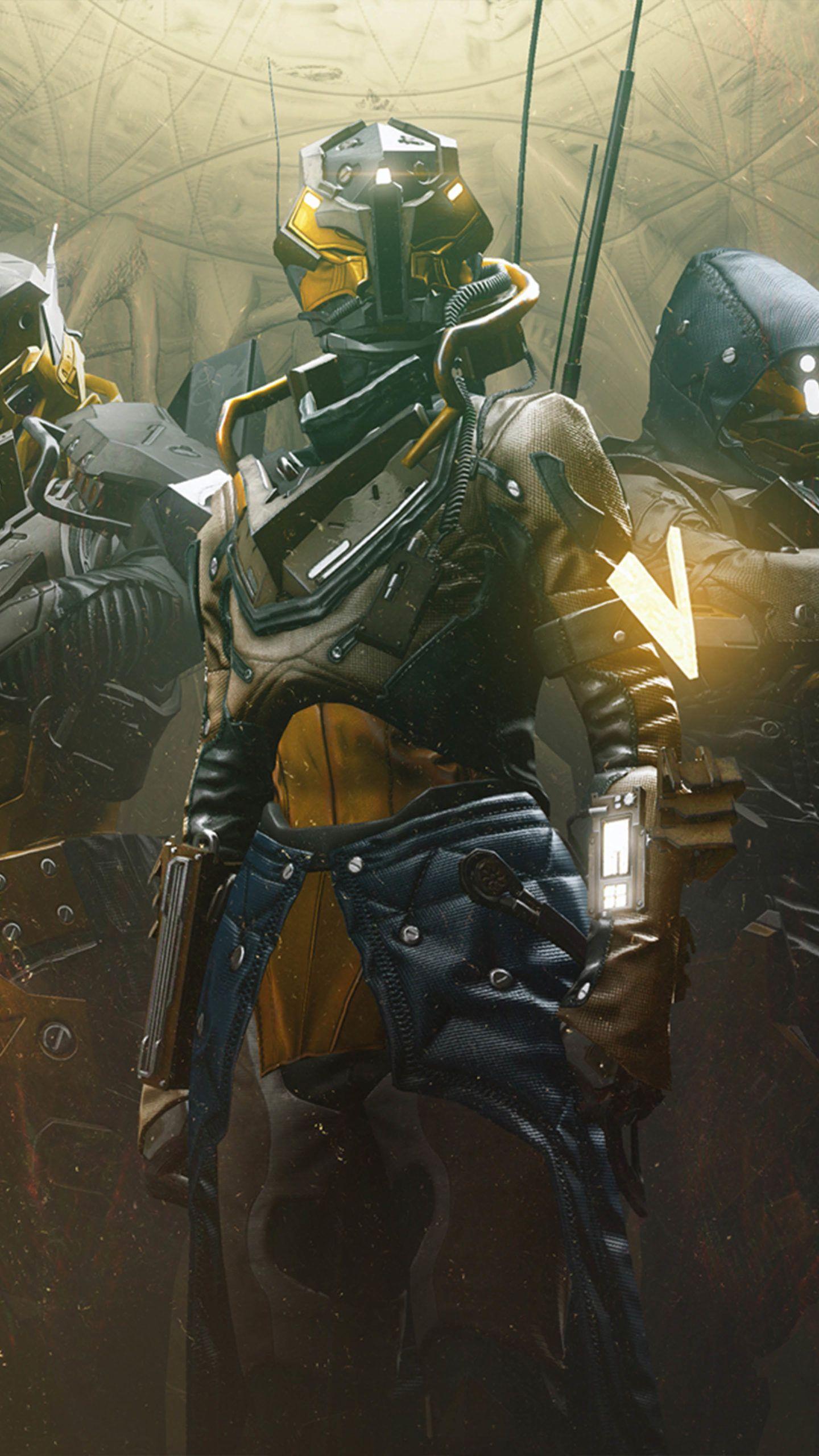 Destiny 2 Season Of Arrival 2020 4k Ultra Hd Mobile Wallpaper In 2021 Marvel Artwork Steampunk Armor Destiny