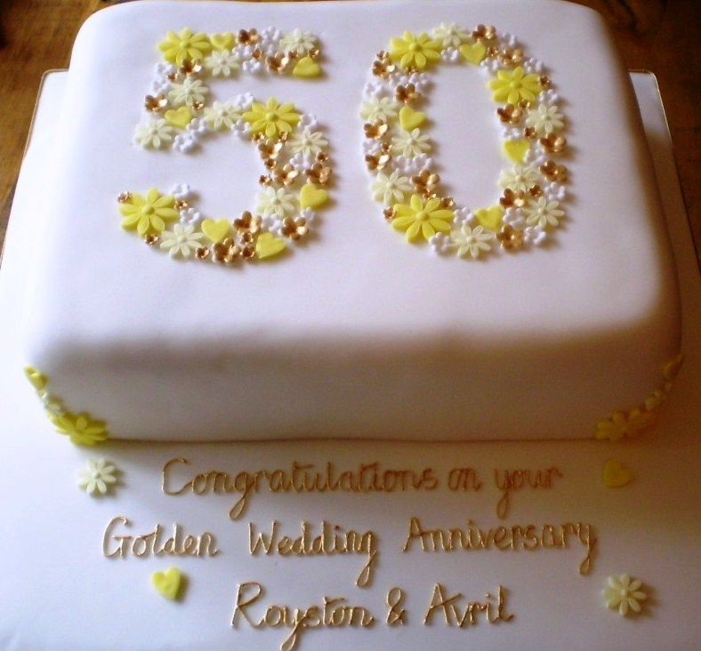 Wedding Anniversary Cake