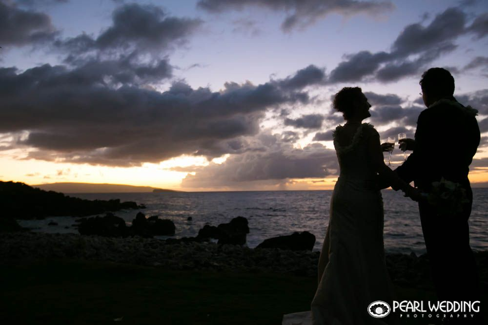 Lisa and Arden enjoyed a romantic sunset wedding at the Kukahiko Estate planned by Tori Rogers of Hawaii Weddings by Tori Rogers. Photo by Jessica Pearl of Pearl Wedding Photography.  http://www.hawaiianweddings.net #PearlWeddingPhotography #Sunsetwedding #BeachWedding #Mauiweddings #Mauiweddingestate #Mauiweddinglocation #Mauiweddingplanner #destinationweddings #HawaiiWeddings