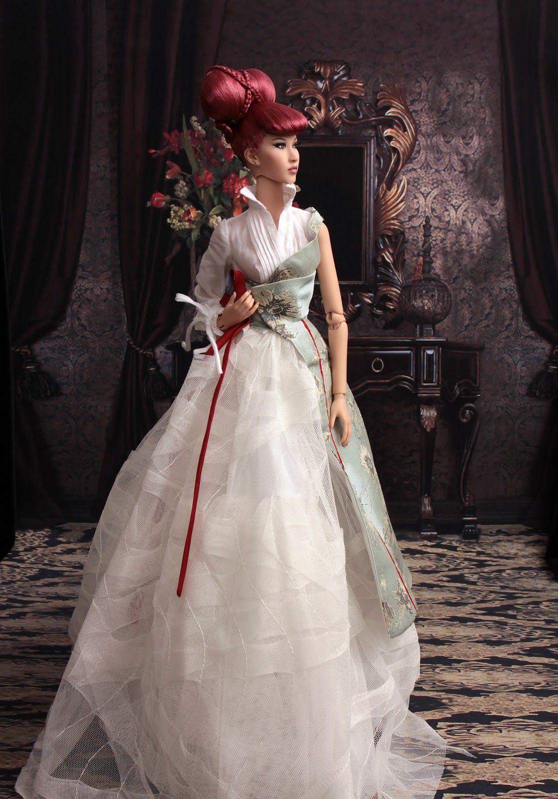 Pin Op Barbie En Bruid