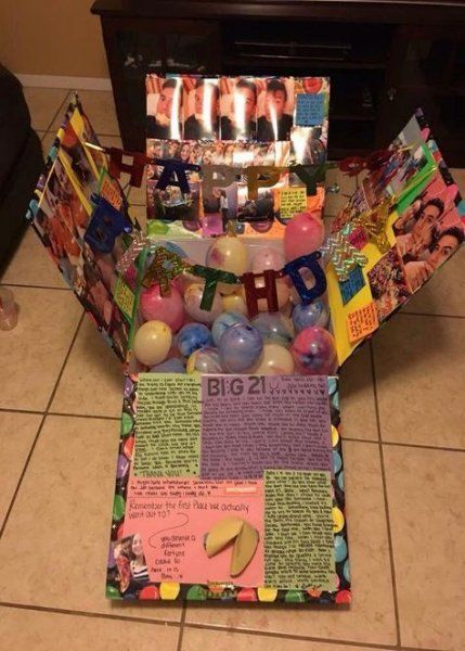 19 Ideas Birthday Gifts For Best Friend Diy 21st Birthday
