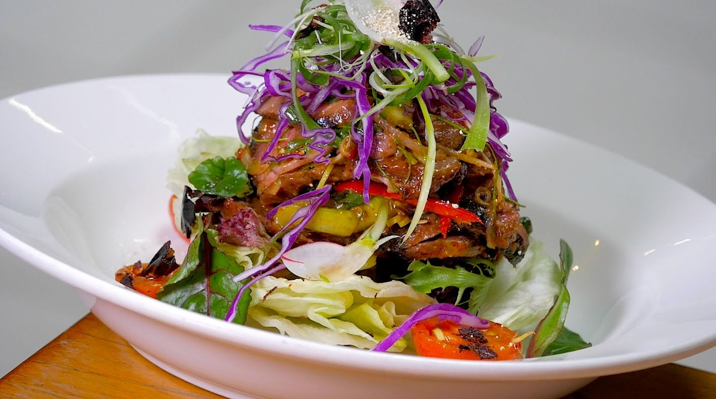 Thai beef salad recipe youtube thai food pinterest food thai beef salad recipe youtube forumfinder Image collections