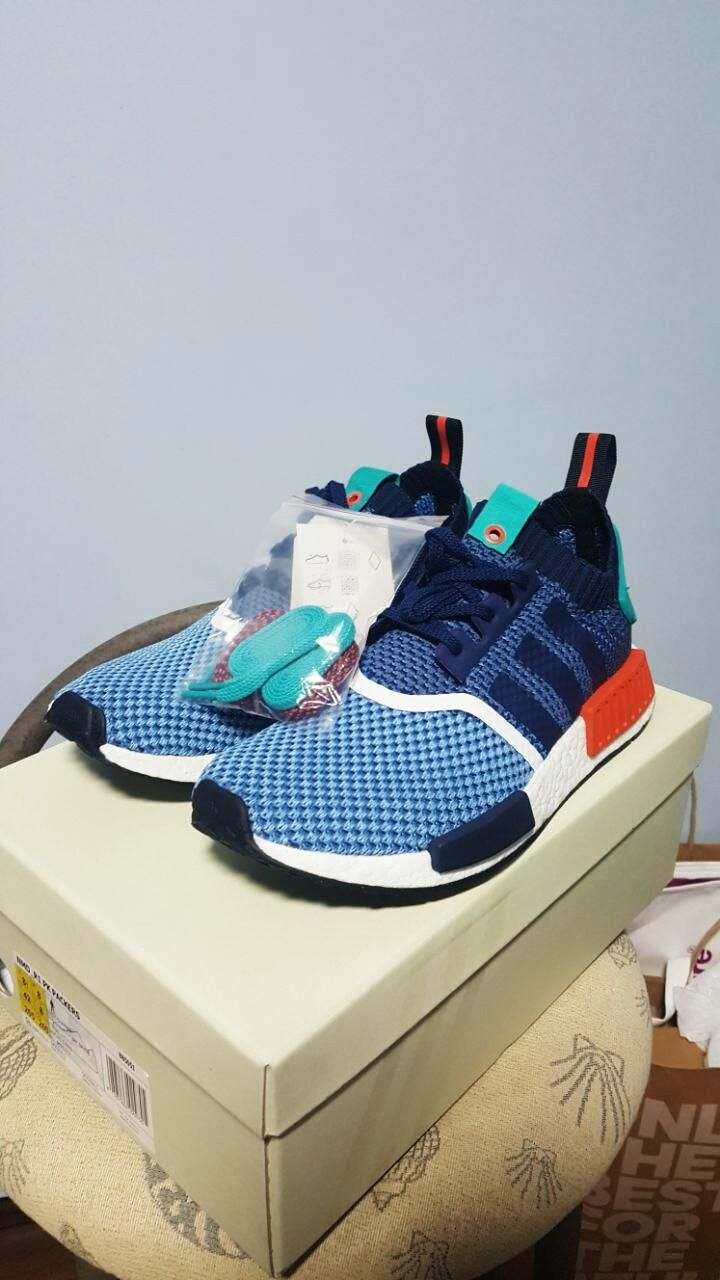 Super happy to cop this pair of DS Packer NMDs for a steal! ($225) Which pair of the laces should I use?