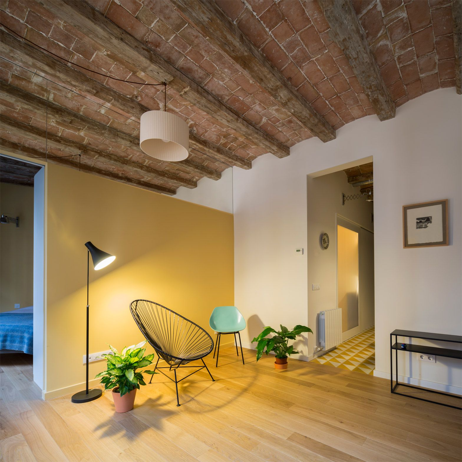 Local Studio Apartments: Barrel-vaulted Ceilings And Exposed Brick Walls Evoke The
